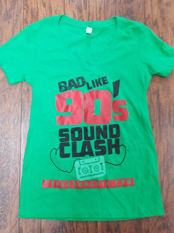 Bad Like 90s Sound Clash T-Shirt - Women