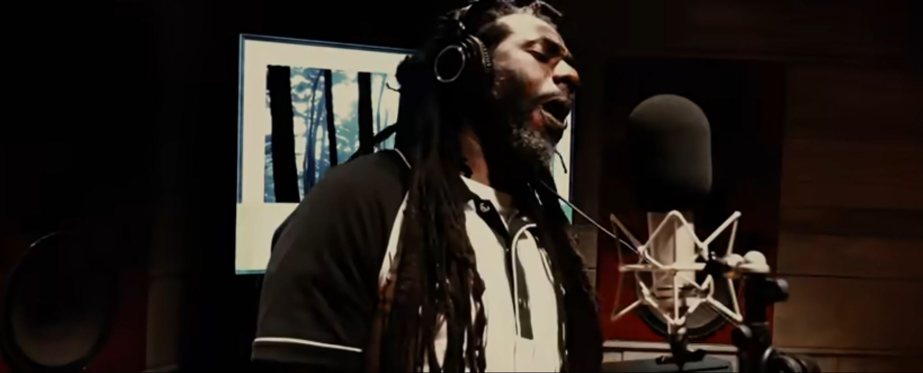 Buju Banton does an artful performance on this new release from Khaled