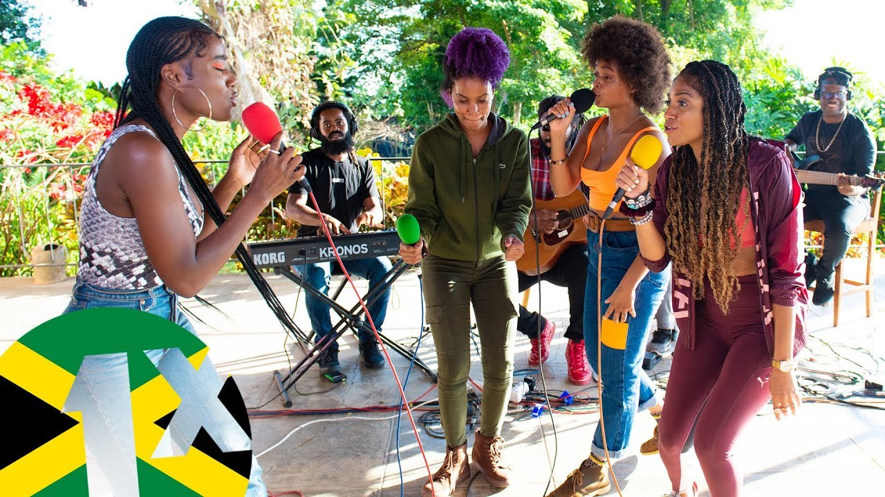 The lovely Jamaican female Reggae stars perform live for a BBC1Extra special